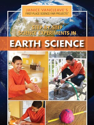 cover image of Step-by-Step Science Experiments in Earth Science
